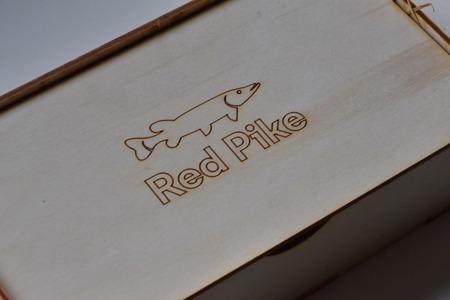 Drewniane pudełko na prezent 22 x 12 x 6 cm