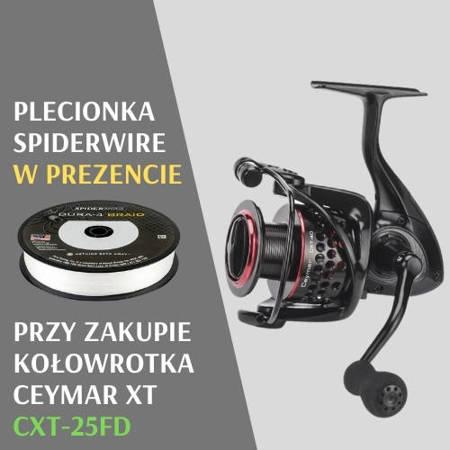 Promocja! Zestaw Okuma Ceymar XT CXT-25 + Plecionka Spiderwire Gratis!