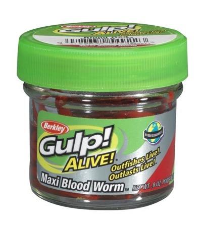 Przynęta Berkley Sztuczna Ochotka Gulp! Alive Bloodworms Large