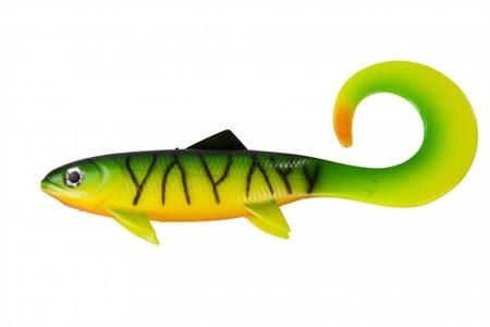 Przynęta Effzett Pike Seducer Curltail Loose Body 23cm 85g - Firetige