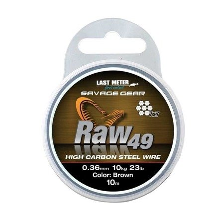 Savage Gear Linka Do Przyponow I Dozbrojek Raw49 0,54mm 23kg