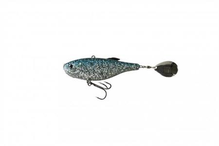 Wirujący Ogonek Effzett Crazy Vibe 6cm 14g - Blue Herring